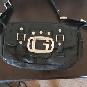 GUESS Sm black purse